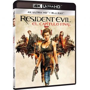 RESIDENT EVIL 6: THE FINAL CHAPTER [Imported] (4K UHD BLU-RAY)