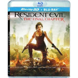 RESIDENT EVIL: THE FINAL CHAPTER 3D - RESIDENT EVIL: ΤΟ ΤΕΛΕΥΤΑΙΟ ΚΕΦΑΛΑΙΟ 3D (BLU-RAY 3D + BLU-RAY)