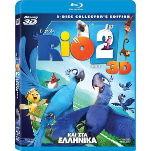 RIO 2 3D - ΡΙΟ 2 3D 2-Disc Collector's Edition (BLU-RAY 3D + BLU-RAY) & ΣΤΑ ΕΛΛΗΝΙΚΑ