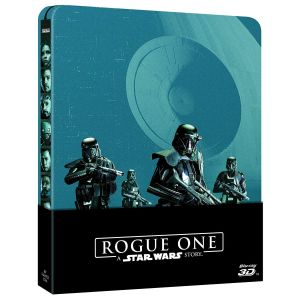 ROGUE ONE: A STAR WARS STORY 3D - Limited Edition Steelbook [Imported] (BLU-RAY 3D + BLU-RAY) + GIFT Steelbook PROTECTIVE SLEEVE