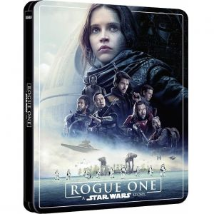 ROGUE ONE: A STAR WARS STORY Limited Edition NEW VISUAL Steelbook [Imported] (BLU-RAY 2D + BLU-RAY BONUS)