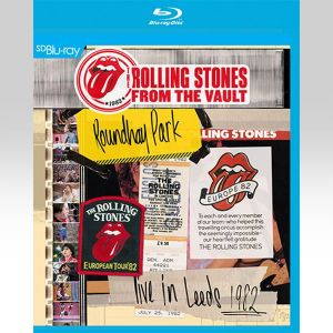 ROLLING STONES: FROM THE VAULT - ROUNDHAY PARK - LIVE IN LEEDS 1982 [SD UPSCALED] (BLU-RAY)