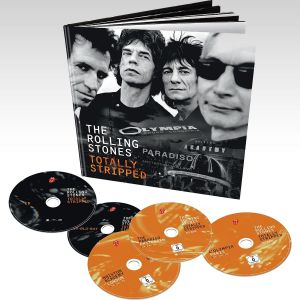 ROLLING STONES: TOTALLY STRIPPED [SD UPSCALED] (4 BLU-RAY + 1 CD)