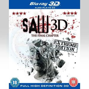 SAW 7: THE FINAL CHAPTER 3D - EXTREME EDITION [Imported] (BLU-RAY 3D + BLU-RAY)