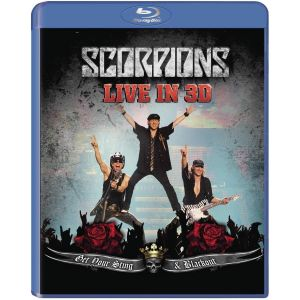 SCORPIONS - GET YOUR STING & BLACKOUT LIVE IN 3D (BLU-RAY 3D)