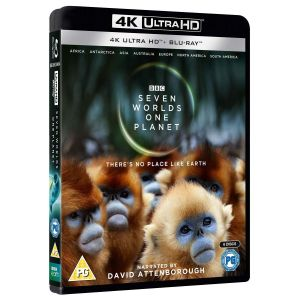SEVEN WORLDS, ONE PLANET 4K+2D [Imported] (4K UHD BLU-RAY + BLU-RAY)