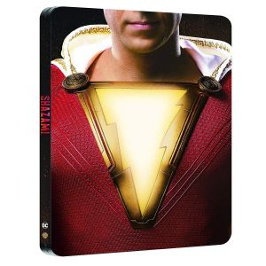 SHAZAM! 4K+2D [Imported] Limited Edition Steelbook (4K UHD BLU-RAY + BLU-RAY)