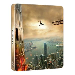 SKYSCRAPER Limited Edition Steelbook [Imported] (BLU-RAY)