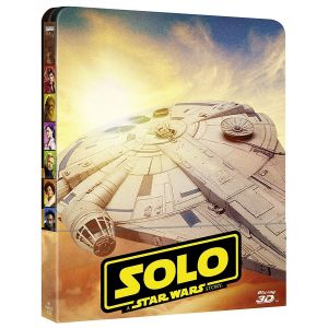 SOLO: A STAR WARS STORY 3D+2D Limited Edition Steelbook [Imported] (BLU-RAY 3D + BLU-RAY 2D + BLU-RAY BONUS)