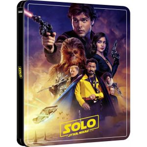 SOLO: A STAR WARS STORY Limited Edition NEW VISUAL Steelbook [Imported] (BLU-RAY 2D + BLU-RAY BONUS)