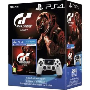 SONY OFFICIAL New WIRELESS CONTROLLER DUALSHOCK 4 v2 GRAN TURISMO SPORT Limited Edition + GRAN TURISMO SPORT Standard (PS4)