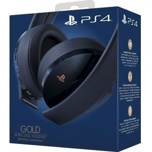 SONY OFFICIAL GOLD WIRELESS HEADSET 500 Million Limited Edition (PS4)