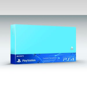 SONY OFFICIAL HDD COVER Aqua Blue (PS4)