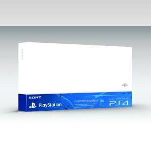 SONY OFFICIAL HDD COVER Glacier White (PS4)