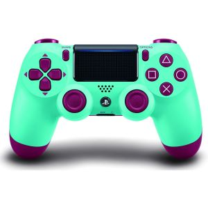 SONY OFFICIAL New WIRELESS CONTROLLER DUALSHOCK 4 v2 Berry Blue (PS4)