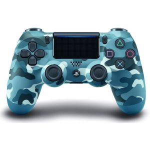 SONY OFFICIAL New WIRELESS CONTROLLER DUALSHOCK 4 v2 Blue Camouflage (PS4)