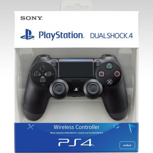 SONY OFFICIAL New WIRELESS CONTROLLER DUALSHOCK 4 v2 CUH-ZCT2E Jet Black - SONY ΕΠΙΣΗΜΟ ΝΕΟ ΑΣΥΡΜΑΤΟ ΧΕΙΡΙΣΤΗΡΙΟ DUALSHOCK 4 v2 CUH-ZCT2E ΜΑΥΡΟ (PS4)