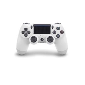 SONY OFFICIAL New WIRELESS CONTROLLER DUALSHOCK 4 v2 Glacier White (PS4)