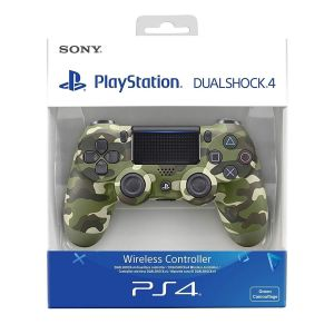 SONY OFFICIAL New WIRELESS CONTROLLER DUALSHOCK 4 v2 Green Camouflage (PS4)