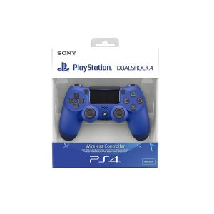 SONY OFFICIAL New WIRELESS CONTROLLER DUALSHOCK 4 v2 Wave Blue (PS4)