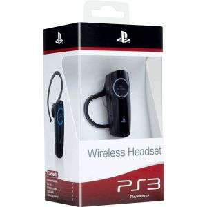 SONY OFFICIAL WIRELESS BLUETOOTH HEADSET Black - SONY ΕΠΙΣΗΜΟ ΑΣΥΡΜΑΤΟ ΑΚΟΥΣΤΙΚΟ BLUETOOTH ΜΑΥΡΟ PS719138198 (PS3)