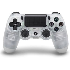 SONY OFFICIAL WIRELESS CONTROLLER DUALSHOCK 4 Crystal PS719817451 (PS4)