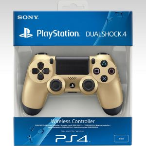SONY OFFICIAL WIRELESS CONTROLLER DUALSHOCK 4 Gold Collector's Edition (PS4)