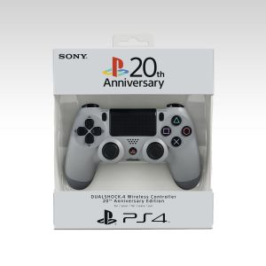 SONY OFFICIAL WIRELESS CONTROLLER DUALSHOCK 4 Original Grey 20th Anniversary Edition - SONY ΕΠΙΣΗΜΟ ΑΣΥΡΜΑΤΟ ΧΕΙΡΙΣΤΗΡΙΟ DUALSHOCK 4 ΓΚΡΙ 20th Anniversary Edition (PS4)