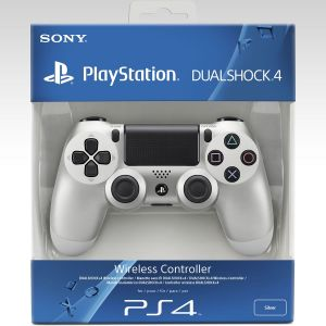 SONY OFFICIAL WIRELESS CONTROLLER DUALSHOCK 4 Silver Collector's Edition (PS4)
