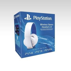 SONY OFFICIAL WIRELESS STEREO HEADSET 2.0 White - SONY ΕΠΙΣΗΜΑ ΑΣΥΡΜΑΤΑ ΣΤΕΡΕΟΦΩΝΙΚΑ ΑΚΟΥΣΤΙΚΑ 2.0 ΛΕΥΚΑ (PS4, PS3, PS VITA)