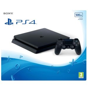 SONY PS4 CONSOLE Slim 500GB E Chassis Jet Black