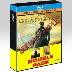 SPARTACUS & GLADIATOR DOUBLE PACK (BLU-RAY)