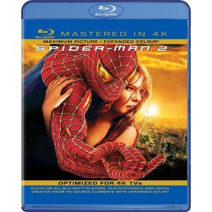 SPIDER-MAN 2 [4K MASTERED] (BLU RAY)