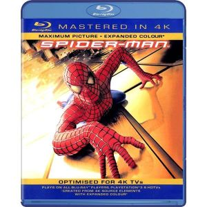 SPIDER-MAN [4K MASTERED] (BLU RAY)