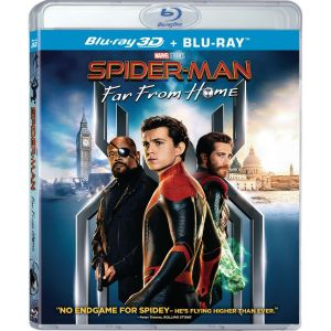 SPIDER-MAN: FAR FROM HOME 3D+2D - SPIDER-MAN: ΜΑΚΡΙΑ ΑΠΟ ΤΟΝ ΤΟΠΟ ΤΟΥ 3D+2D (BLU-RAY 3D + BLU-RAY)