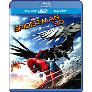 SPIDER-MAN: HOMECOMING 3D (BLU-RAY 3D + BLU-RAY 2D)