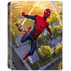 SPIDER-MAN: HOMECOMING 3D+2D Limited Edition Generic Steelbook (BLU-RAY 3D + BLU-RAY 2D)