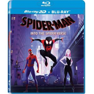 SPIDER-MAN: INTO THE SPIDER-VERSE 3D+2D (BLU-RAY 3D + BLU-RAY 2D)