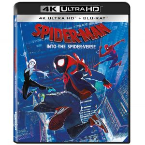SPIDER-MAN: INTO THE SPIDER-VERSE 4K+2D (UHD BLU-RAY + BLU-RAY 2D)