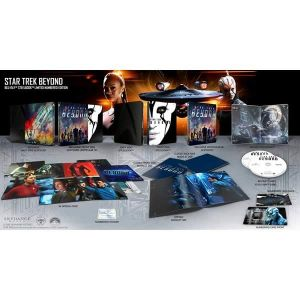 STAR TREK: BEYOND 3D Limited Collector's Numbered JAYLAH Edition Steelbook + BOOKLET + CARDS (BLU-RAY 3D + BLU-RAY)