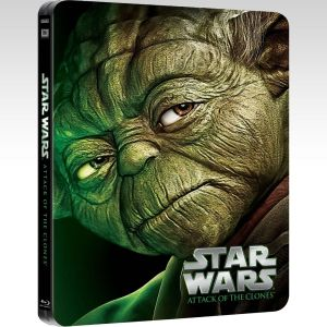 STAR WARS EPISODE II: ATTACK OF THE CLONES Limited Edition Steelbook [Εισαγωγής ΜΕ ΕΛΛΗΝΙΚΟΥΣ ΥΠΟΤΙΤΛΟΥΣ] (BLU-RAY)