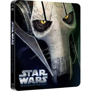 STAR WARS EPISODE III: REVENGE OF THE SITH Limited Edition Steelbook [Εισαγωγής ΜΕ ΕΛΛΗΝΙΚΟΥΣ ΥΠΟΤΙΤΛΟΥΣ] (BLU-RAY)