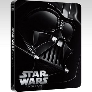 STAR WARS EPISODE IV: A NEW HOPE Limited Edition Steelbook [Imported] (BLU-RAY)
