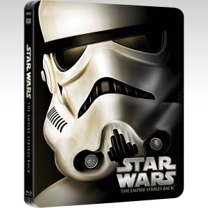 STAR WARS EPISODE V: THE EMPIRE STRIKES BACK Limited Edition Steelbook [Εισαγωγής ΜΕ ΕΛΛΗΝΙΚΟΥΣ ΥΠΟΤΙΤΛΟΥΣ] (BLU-RAY)