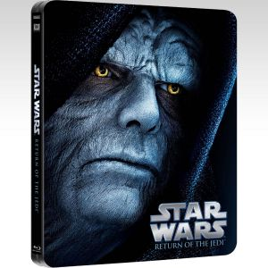 STAR WARS EPISODE VI: RETURN OF THE JEDI Limited Edition Steelbook [Εισαγωγής ΜΕ ΕΛΛΗΝΙΚΟΥΣ ΥΠΟΤΙΤΛΟΥΣ] (BLU-RAY)