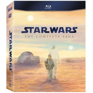 STAR WARS: THE COMPLETE SAGA [Imported] (9 BLU-RAYS)
