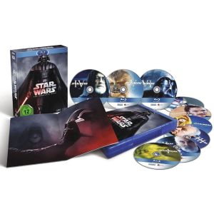 STAR WARS: THE COMPLETE SAGA I - VI [Imported] (9 BLU-RAYS)