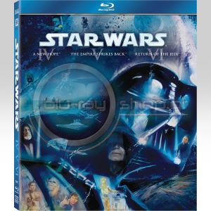 STAR WARS: THE ORIGINAL TRILOGY (3 BLU-RAYS)