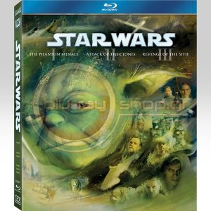 STAR WARS: THE PREQUEL TRILOGY (3 BLU-RAYS)