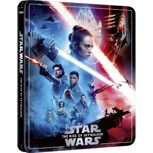 STAR WARS: THE RISE OF SKYWALKER  Limited Edition NEW VISUAL Steelbook [Imported] (BLU-RAY 2D + BLU-RAY BONUS)
